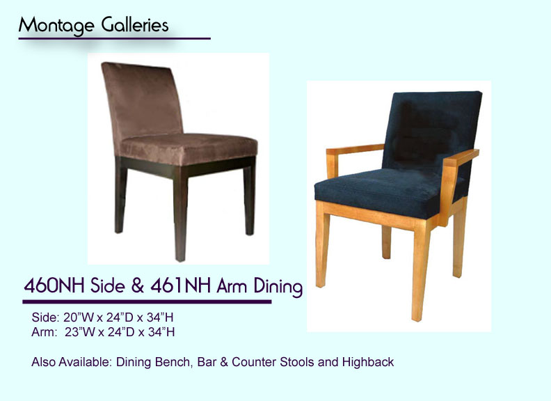 CSI_Montage_Galleries_460NH_Side_461NH_Arm_Dining_Chair