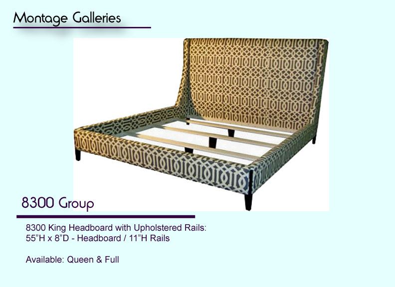 Custom Made Beds Image Gallery: Custom & Handcrafted Commercial/residential Upholstered